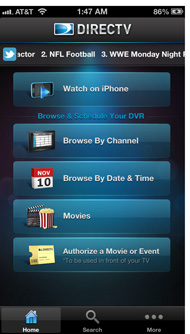 DirectTV Interface